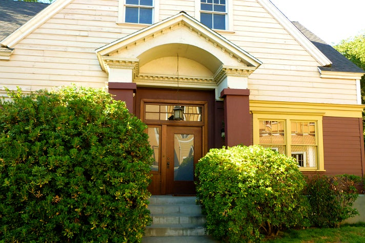 "Aria Montgomery's house in ""Pretty Little Liars"" at Warner Bros. Studio"