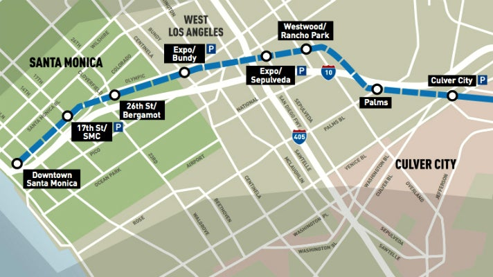 Top 10 Things to Know About the Metro Expo Line to Santa ...