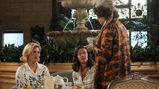 """Betty and the fortune teller from """"Mad Men"""" Season 5"""