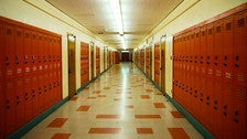"Hallway at Ulysses S. Grant High School from ""Clueless"""