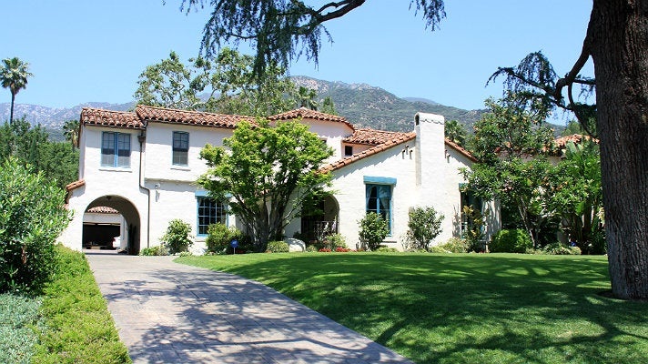 "The Walsh house from ""Beverly Hills, 90210"""