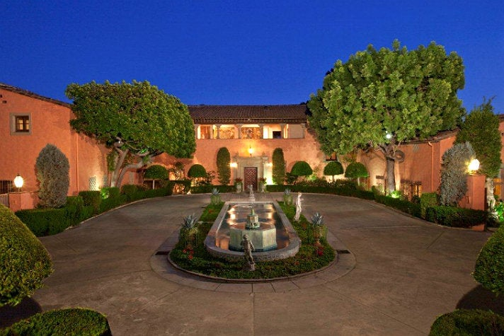 Courtyard of the Beverly House