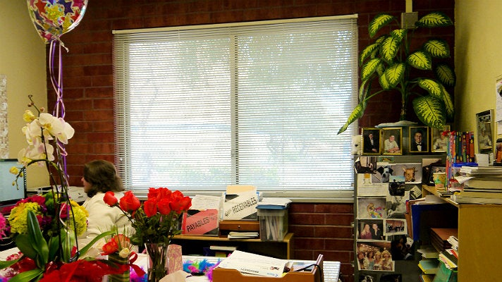 """Principal Rooney's office from """"Ferris Bueller's Day Off"""""""