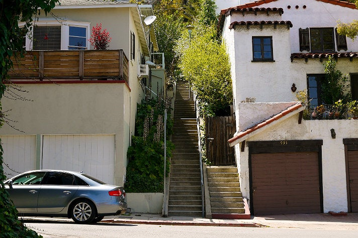 Music Box Steps in Silver Lake