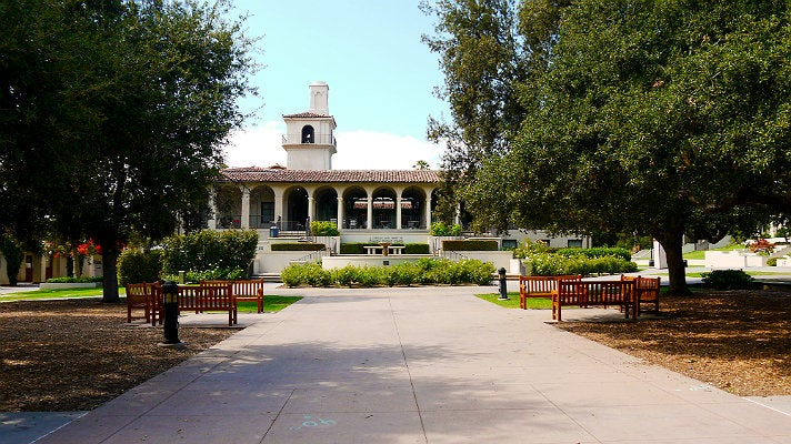 Johnson Student Center and Freeman College Union at Occidental College